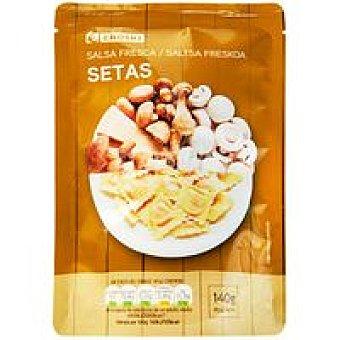 Eroski Salsa fresca de setas Bolsa 140 g