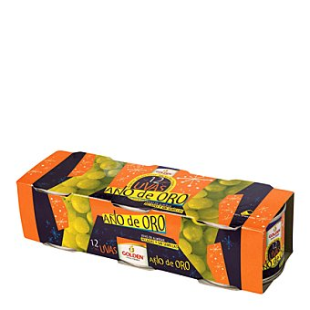 Golden 12 uvas año Pack de 3x130 g