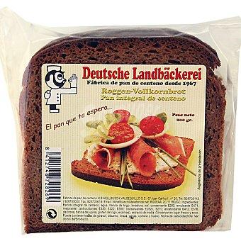 DEUTSCHE LANDBÄCKEREI Roggen-Vollkornbrot pan integral de centeno paquete 200 g Paquete 200 g