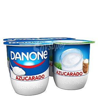 Danone Yogur natural azucarado Pack 4 x 120 g