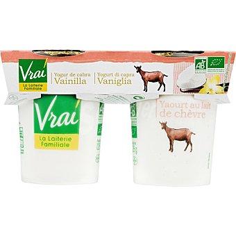Vrai Yogur de cabra sabor vainilla biologico Pack 2 unidades 125 g