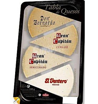 Lactalis Forlasa Tabla quesos curados 180 G