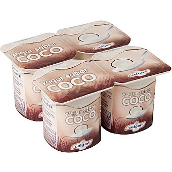 Celgan Yogur sabor coco pack 4 unds. 125 g Pack 4 unds. 125 g