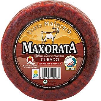 Maxorata Queso de cabra curado con pimenton D.O. Majorero pieza 1 kg