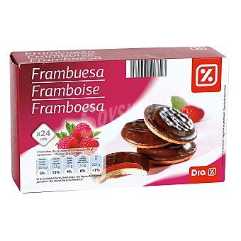 DIA Galleta cake rellena de frambuesa Paquete 300 grs