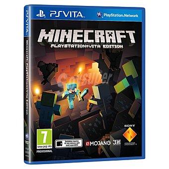 PS VITA Videojuego Minecraft Playstation Vita Edition  1 unidad