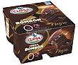 Crema bombón de chocolate negro selección 4 x 125 g Clesa
