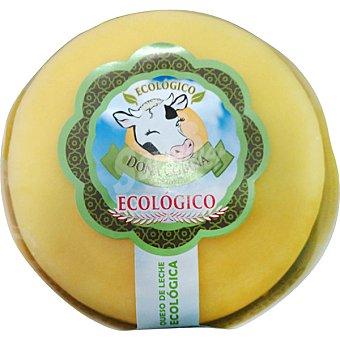 DOÑA COBIÑA Queso gallego semicurado elaborado con leche de vaca ecologico pieza 450 g