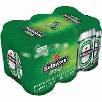 HEINEKEN Cerveza pack 6x33 cl