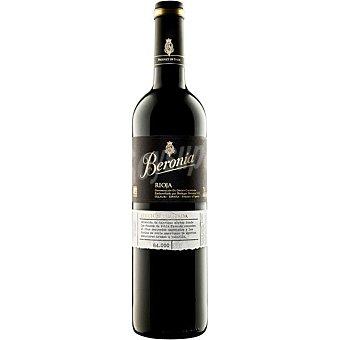 Beronia Vino tinto crianza Edición Limitada doca Rioja Botella 75 cl