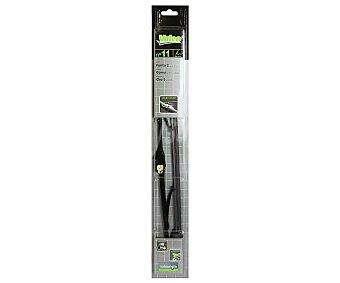 Valeo Escobilla limpiaparabrisas de 450 milímetros de longitud, con adaptador de ajuste tipo U y avisador de desgaste incorporado Nº 11