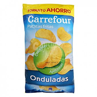 Carrefour Patatas fritas onduladas 350 G 350 g