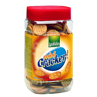 Gullón Mini cracker (galletas saladas) Bote 350 g