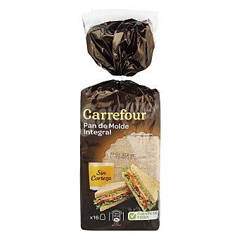 Carrefour Pan integral Sin Corteza 450 g