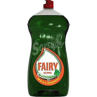 Fairy Ultra lavavajillas a mano concentrado tamaño ahorro Botella 1,5 l