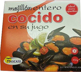 Mascato Mejillon congelado cocido en su jugo Paquete 450 g
