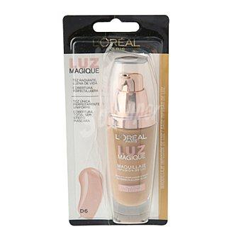 L'Oréal Base de maquillaje Luz Magique DW6 Gold Camel 1 ud