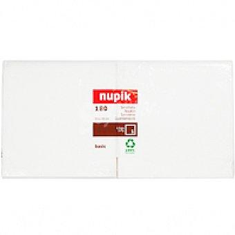 Nupik Servilleta blanca 1 capa 30x30 cm Pack 180 unid