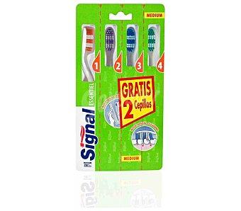 Signal Cepillo dental essentiel Pack 4 un