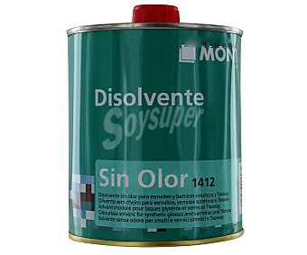 MONTÓ Disolvente transparente de muy débil olor 750 Mililitros
