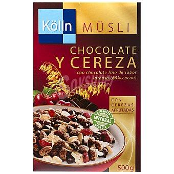 Kölln Cereales Muesli chocolate y cereza 500 g