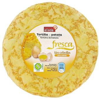 Aliada Tortilla fresca de patata sin cebolla Envase 600 g