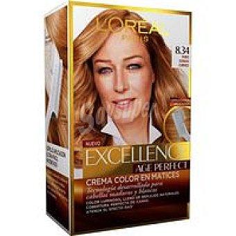 EXCEL. A. Perfect Tinte rubio dorado cobrizo 8.034 Caja 1 unid