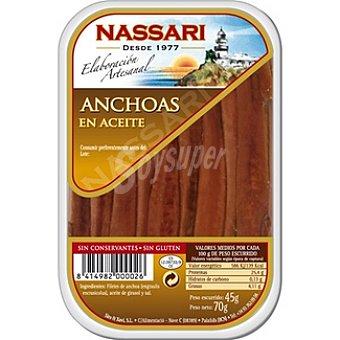 Nassari Anchoa en aceite Tarrina 45 g