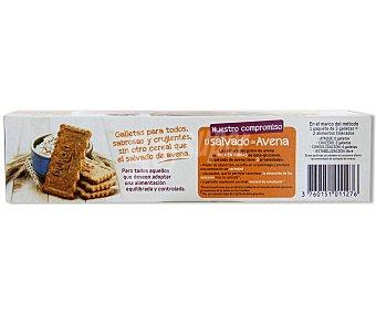 DUKAN Galletas de salvado de avena sabor avellana 225 gramos
