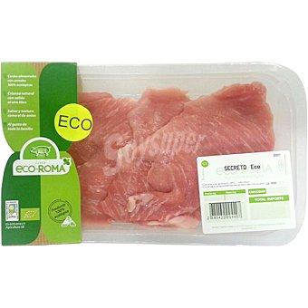 ECOROMA Secretos de cerdo ecológico peso aproximado Bandeja 250 g