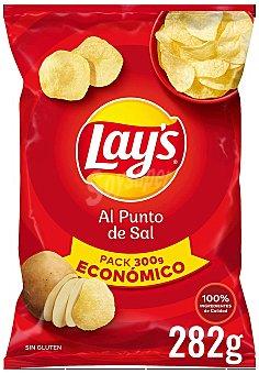 Lay's Patatas fritas al punto de sal Bolsa 282 g