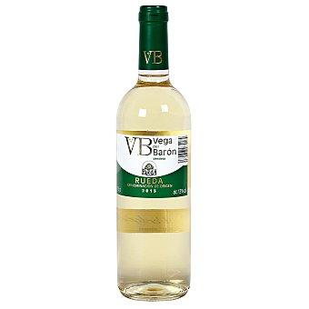 VEGA DEL BARON Vino blanco verdejo DO Rueda Botella 75 cl