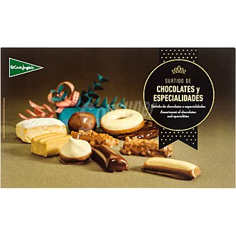 El Corte Inglés Surtido de chocolates y especialidades Estuche 400 g