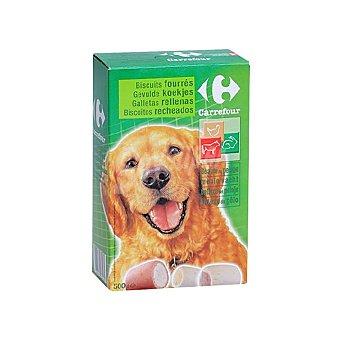 Carrefour Galletas Rellenas para Perro 500g 500 gr