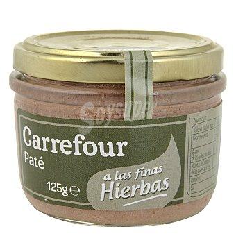 Carrefour Paté de finas hierbas 125 g