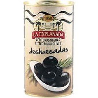 La Explanada Aceitunas negras selección Lata 150 g