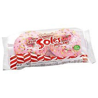 Dulcesol Dolcesoles rosa Paquete 4 unid