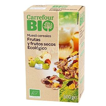 Carrefour Bio Muesli cereales Frutas y frutos secos Ecológico 500 g