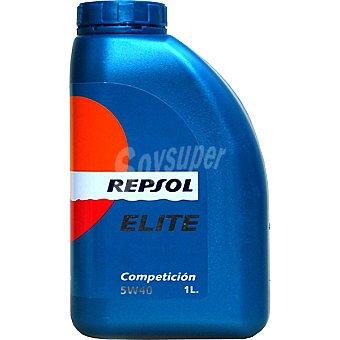 REPSOL Elite Aceite de motor competición 5W40 bidón 1 l