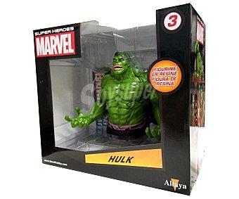 Marvel Busto de Hulk hecho con resina y pintado a mano
