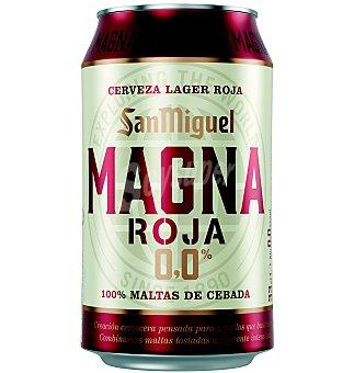 San Miguel Cerveza magna roja 0% 33 cl