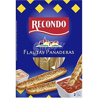 Recondo Flautas panaderas estuche 150 g 2x6 unidades