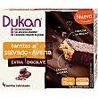 barritas de salvado de avena extra chocolate envase 120 g 4x30g Dieta Dunkan