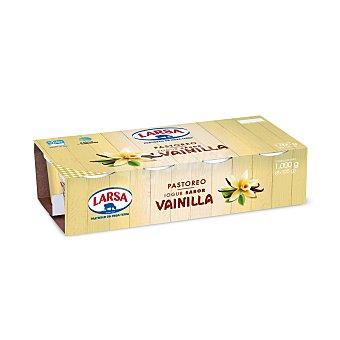 Larsa Yogur sabor vainilla de pastoreo Pack 8 unidades 125 g
