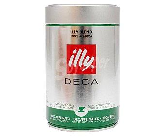 Illy Café molido descafeinado 250 g