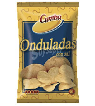 Cumba Patatas fritas onduladas con sal 120 g