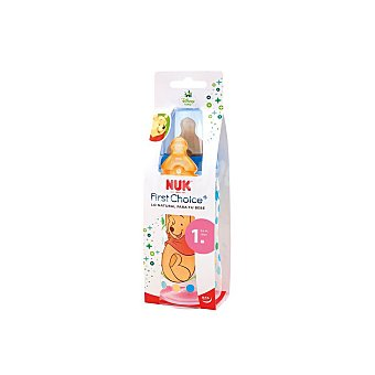 Nuk Biberón con tetina anti-cólico 0-6 meses Nuk Disney 300 ml