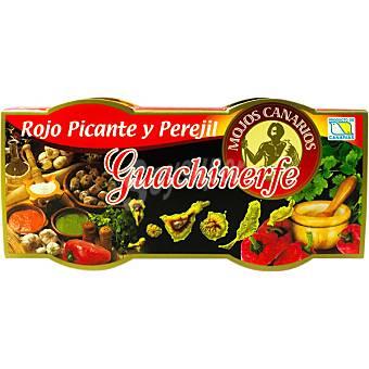 Guachinerfe Mojo rojo picon + mojo de perejil envase 120 g Envase 120 g