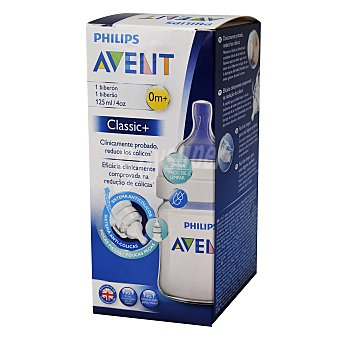Philips Biberón clásico anticólicos 125 ml Avent 1 ud