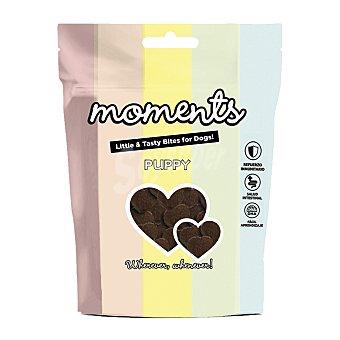 Moments Grain free snacks semihúmedos para perros cachorros con pescado Envase 60 g